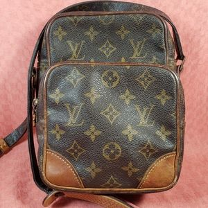 Authentic Louis Vuitton Monogram Amazon Crossbody